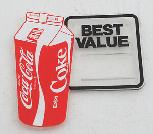 Details about Coca Cola Carton Advertisement Tag From Cooler (D4L) Best  Value