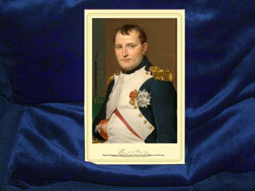 NAPOLEON BONAPARTE Warrior Visionary Emperor Photograph Autograph RP CDV