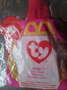 Ty Original Teenie Beanie Baby Smoochy The Frog In Unopened Package