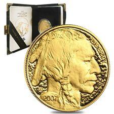 w//Box /& COA SKU #26589 2007-W 1 oz Proof Gold Buffalo
