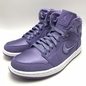 Jordan 1 Shoes Soh Purple Earthwhite Retro Women's Air Nike High WEe2YbH9ID