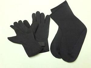 3mm-Diving-neoprene-glove-amp-socks-combination-size-XL