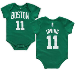 new style be019 11d7d Details about Kyrie Irving Boston Celtics Baby Newborn One-Piece Coverall  Creeper FREE SHIP