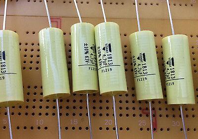 Axial polyester capacitor MKT1813-1UF-400V 10/% 4pcs made by Vishay £3.95 Z3269