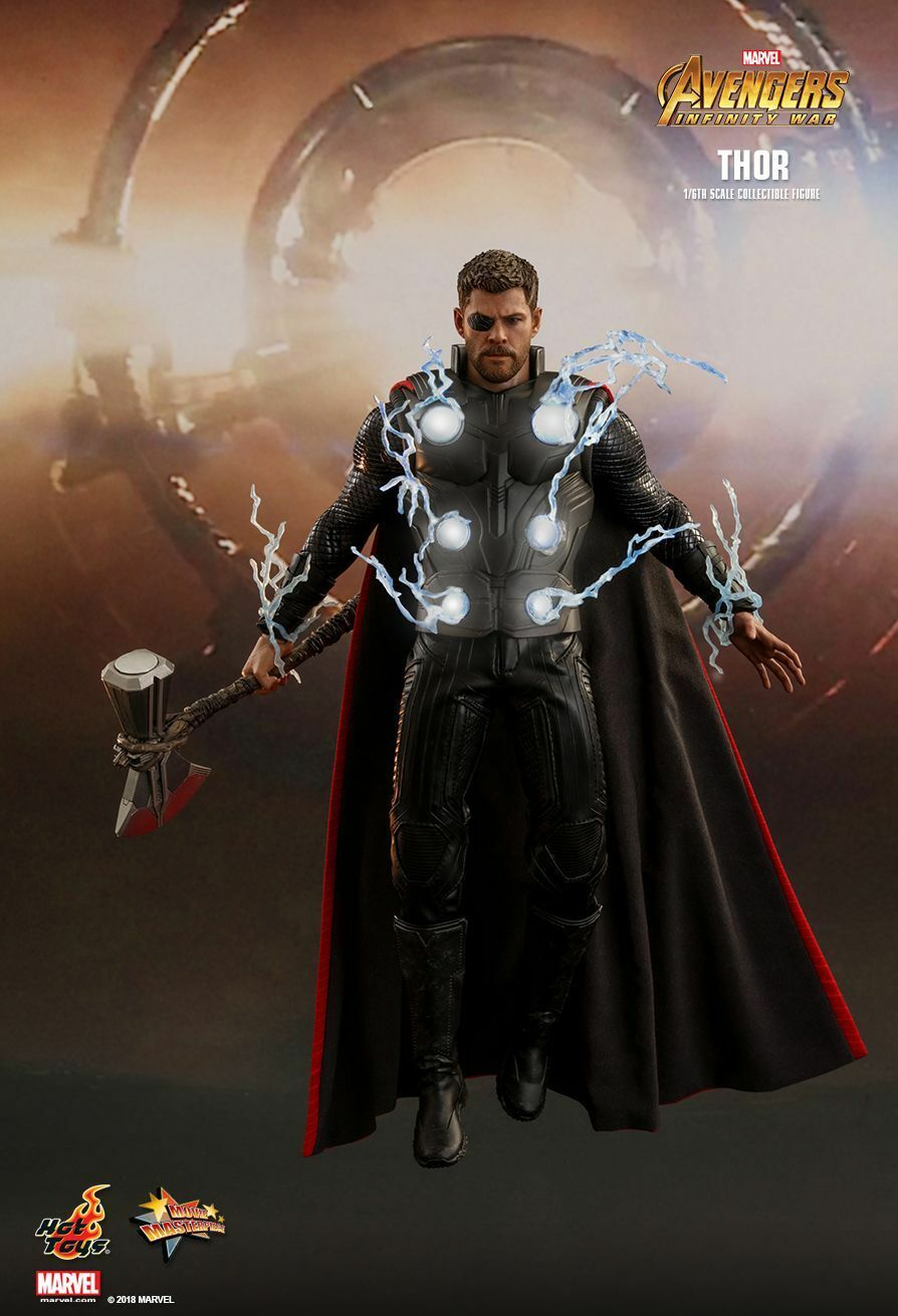 Hot Toys 1 6 Marvel Avengers Infinity guerre MMS474 THOR 12  Movie action figure