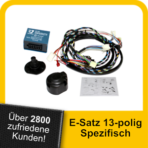 Für BMW X5 E53 00-07 VERTIKAL SPEZ Anhängerkupplung abnehmbar 7pol E-SATZ