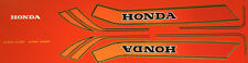 HONDA CB750F RC04 RESTORATION DECAL SET