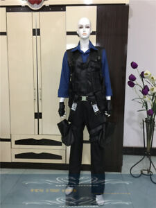 Details About Resident Evil 4 Leon S Kennedy Combat Clothing Cosplay Costume Free Shipping