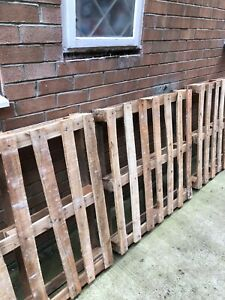 4 Used wooden pallets. Collection Only. | eBay