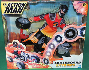 Very Rare Original 12 Inch Action Man Skateboard Extreme MIB Hasbro