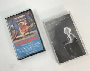 Lot-of-2-Cyndi-Lauper-She-039-s-So-Unusual-Hat-Full-Of-Stars-Pop-New-Wave-Cassette