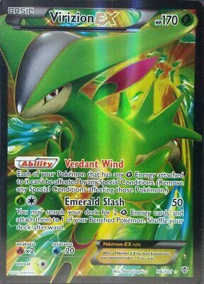 Virizion EX Full Art NM Plasma Blast 96//101 Pokemon TCG