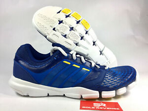 Details about 8 adidas ADIPURE TRAINER 360 Q20504 Dark Blue Viivid Yellow Cross Training Shoes