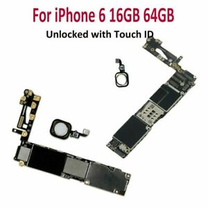 Motherboard-Main-Board-Logic-Board-for-iPhone-6-16GB-64GB-Unlocked-with-Touch-ID