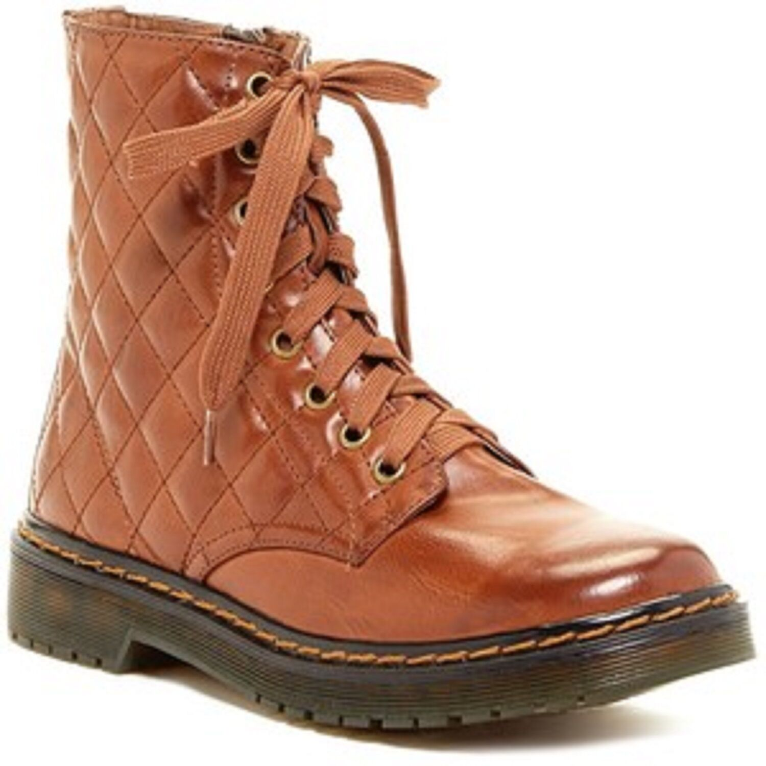 NEW EXTREME By Eddie Marc Dora Quilted Doc BootS WOMEN'S SZ 7