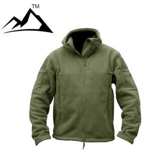 Hojutosga-Mens-Military-Fleece-Jackets-Motorcycle-Coat-Multi-Pocket-Army-Outwear