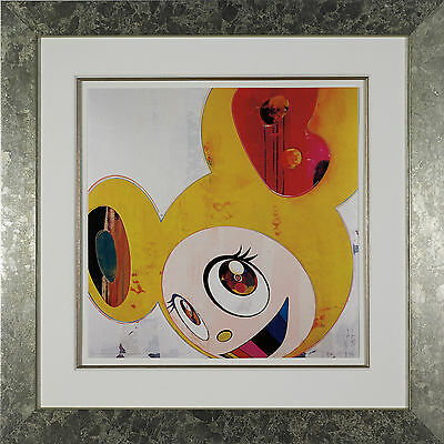 Takashi Murakami - And then, and then... Yellow Jelly, Offset Lithograph, Framed