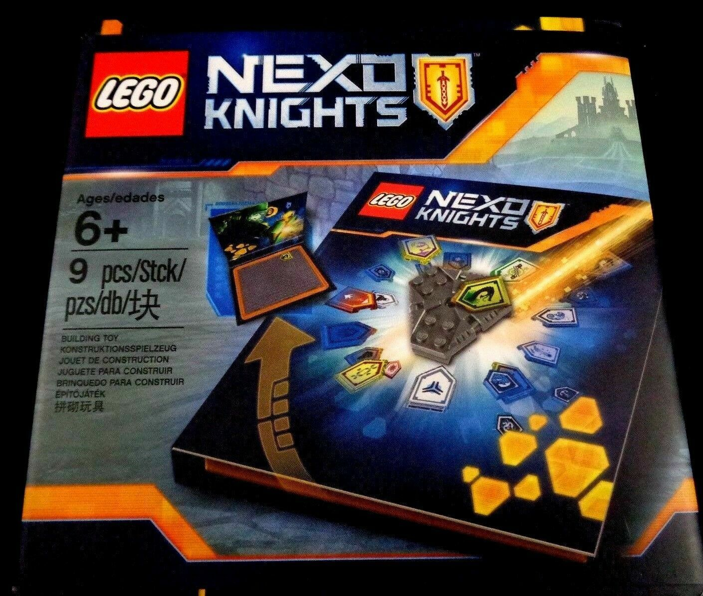 LEGO 5004913 NEXO KNIGHTS Collector Case Toy Game Boys New Merlok 2.0
