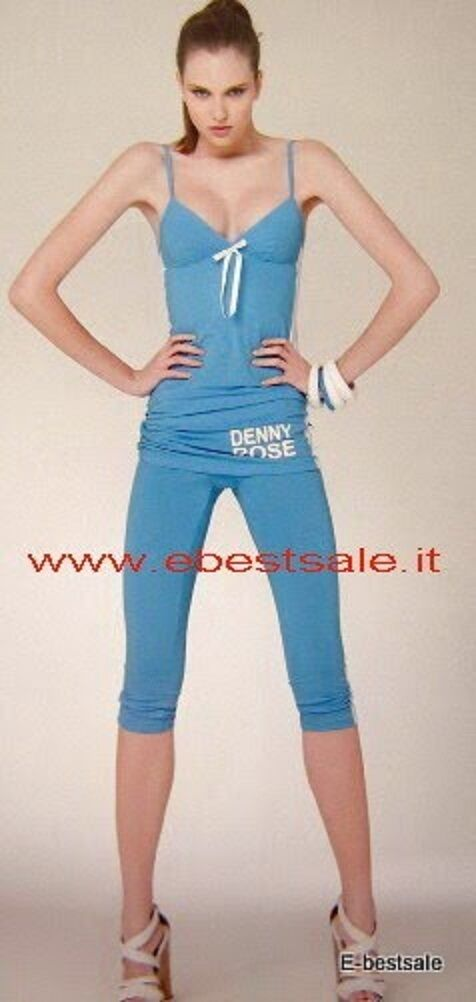 Denny Rosan Rosan Rosan Leggings schwarz D503F Karotte Hose türkis blau  | Niedriger Preis  12c72c