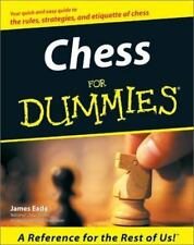 Chess For Dummies paperback book FREE SHIPPING dummys a the an play win