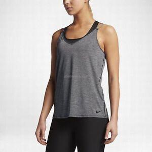meet a2a05 b2963 ... Nike-Femmes-Dri-Fit-Sec-Entrainement-Course-Debardeur-
