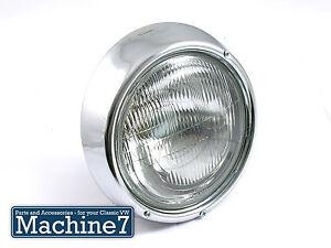 Image Is Loading Clic Vw Beetle Headlamp Headlight Complete Lhd Bay