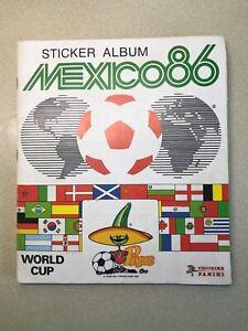 Panini Mexico 86 World Cup Sticker Album. 100% full, very good cond