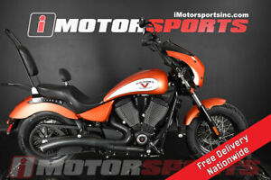 2017 Victory Motorcycles High-Ball Suede Nuclear Sunset Orange