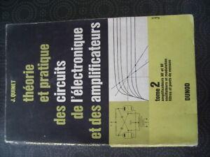 THEORIE ET PRATIQUE DES CIRCUITS DE L'ELECTRONIQUE ET DES AMPLIS -TUBE LAMPE DIY AWyTSuHp-09084807-722399604