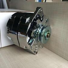 Alternator 110Amp 1-Wire Fits Chrome Street Rod GM High Output 7127-SE105C