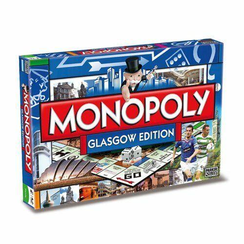 Monopoly - Glasgow Monopoly Board Game - 000062