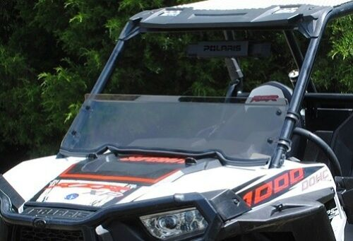 Super ATV Polaris RZR 1000/Turbo Scratch Resistant Light Tint Half Windshield