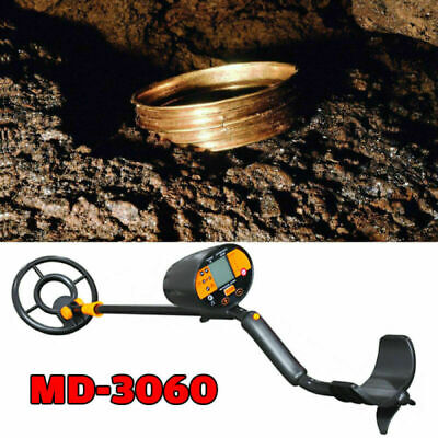 Details about  /Deep Ground Metal Detector Gold Finder LCD Display w// Waterproof Search w 413