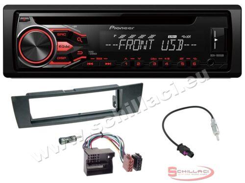 Pioneer DEH-S100UB autoradio CD//USB Kit montaggio per BMW Serie 1