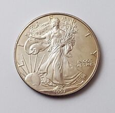 U.S.A - DATATA 1997-argento-Aquila - $1 UN DOLLARO MONETA-American Silver Moneta
