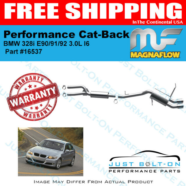 Magnaflow Touring Cat-Back For 2009-2011 328i XDrive E90