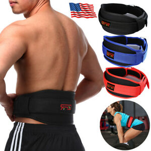Gym Weight Lifting Belt Crossfit Squat Weightlifting Back Support Waist Protect