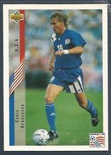 UPPER DECK WORLD CUP USA 1994- #012-UNITED STATES/USA-CHRIS HENDERSON