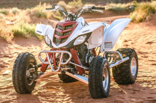 XFR Yamaha Raptor 660 Pro Peg FOOT PEG Nerf bars W HEEL GUARD PSE204