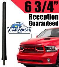 "4/"" SHORT AERIAL ANTENNA AM//FM RADIO SCREW Black For Dodge Ram Truck 1500"