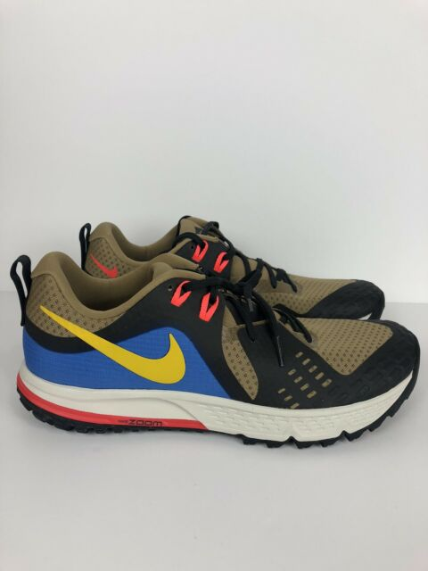 Nike Air Zoom Wildhorse 5 Trail Running Shoes Men's Size 11 AQ2222-200 Outdoor