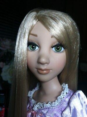 OOAK Tonner Tangled Rapunzel Original Wigged Doll Glass Eyes By Jim Dandy HTF