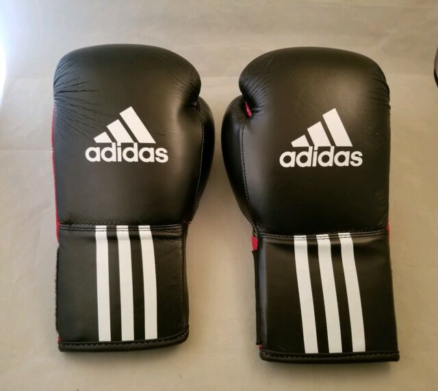 adidas Response Boxing Bag Gloves Large Black Red Pu3g Innovation