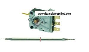 100% Vrai Thermostat Monophase Réglable 0-95°c Pour Lave-vaisselle Meiko
