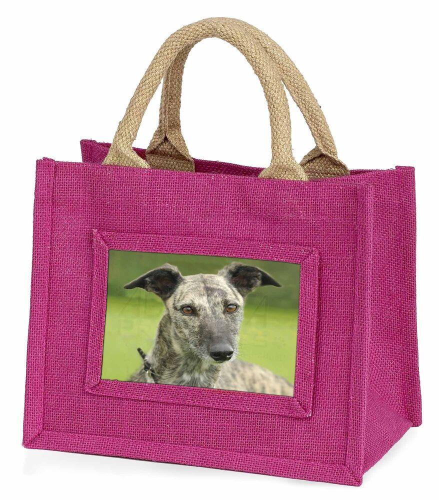 Raisonnable Lurcher Dog Little Girls Small Pink Shopping Bag Christmas Gift, Ad-lu7bmp GuéRir La Toux Et Faciliter L'Expectoration Et Soulager L'Enrouement
