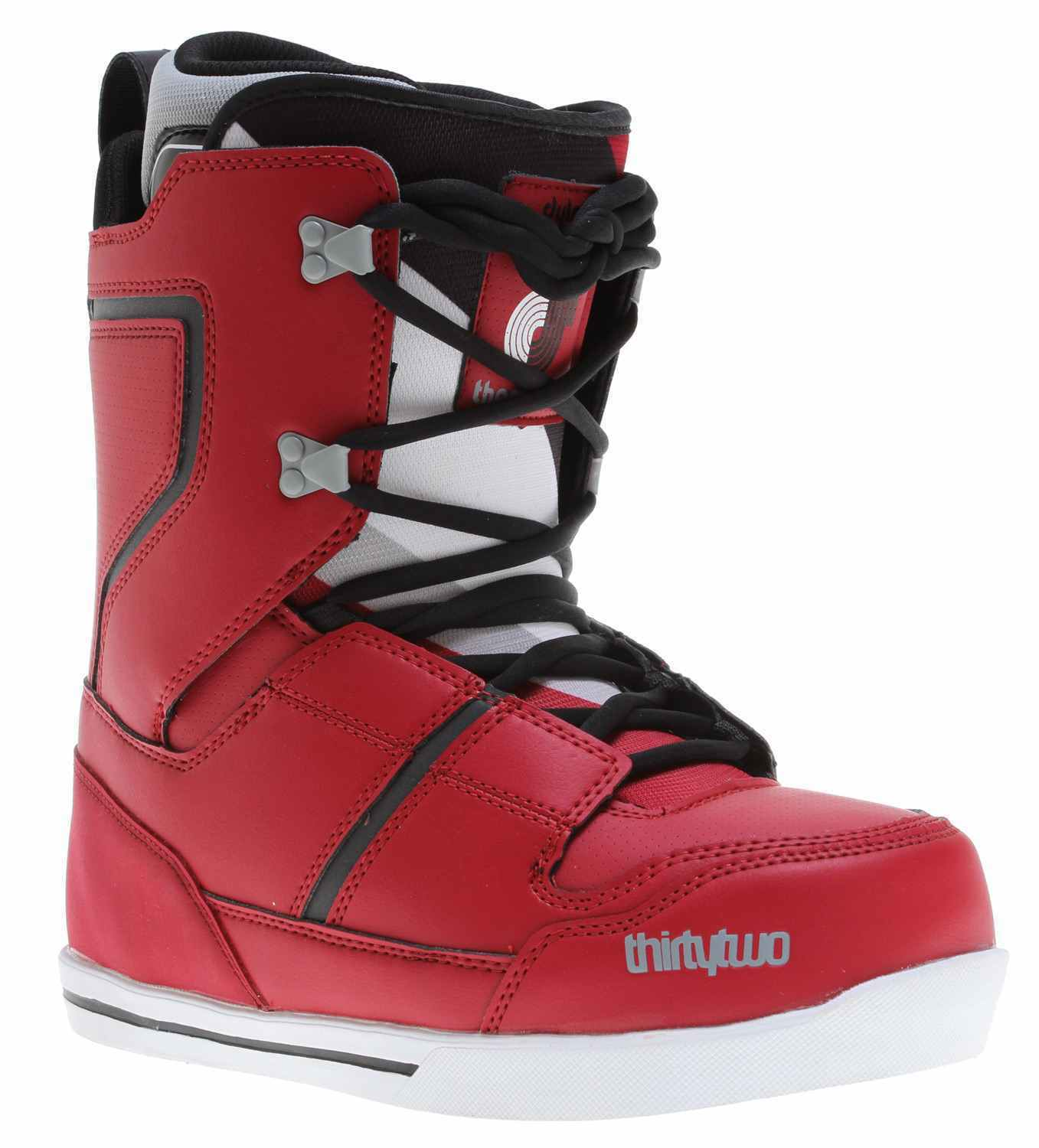 32 ThirtyTwo M's Maven Dylan Thompson RED Sz 6 Snowboarding Boots Thirty Two ANB
