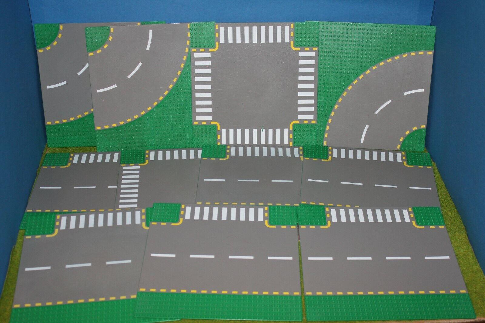 Lego 11 Plaques Vert D'Occasion