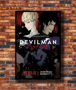 Art-Devilman-Crybaby-Japanese-Anime-TV-20x30-24x36in-Poster-Hot-Gift-C719