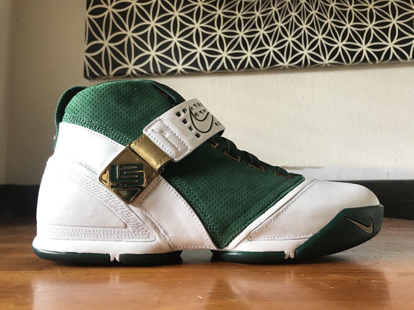 2007 Nike Zoom Lebron V  Birthday   317253 311 Size 11 DS Rare