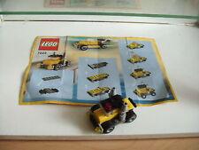 Lego Create Hot rod Truck in Yellow (Lego nr: 7223)